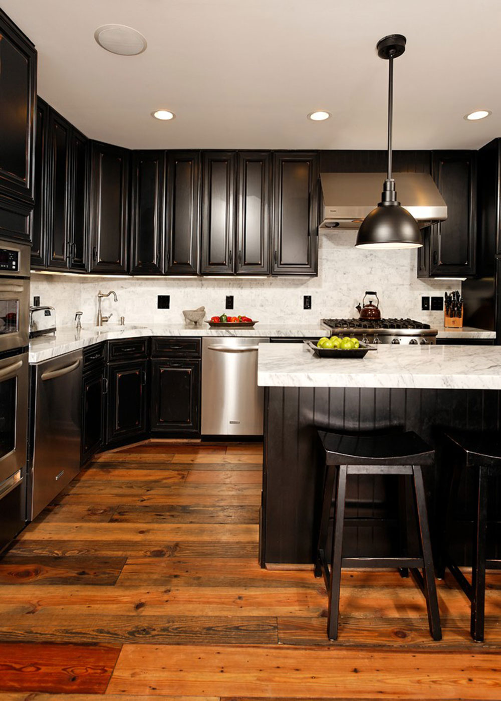 Kitchens With Black Cabinets Pictures And Ideas